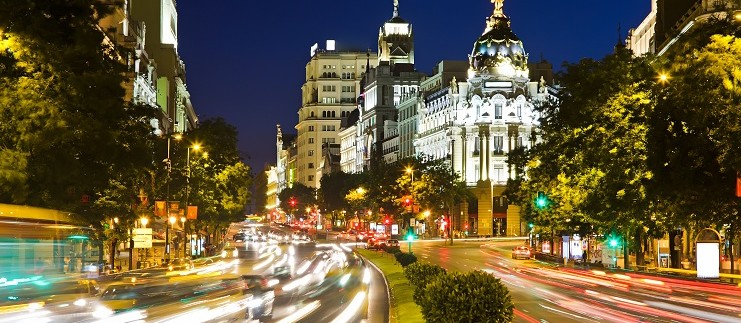 lujo en Madrid