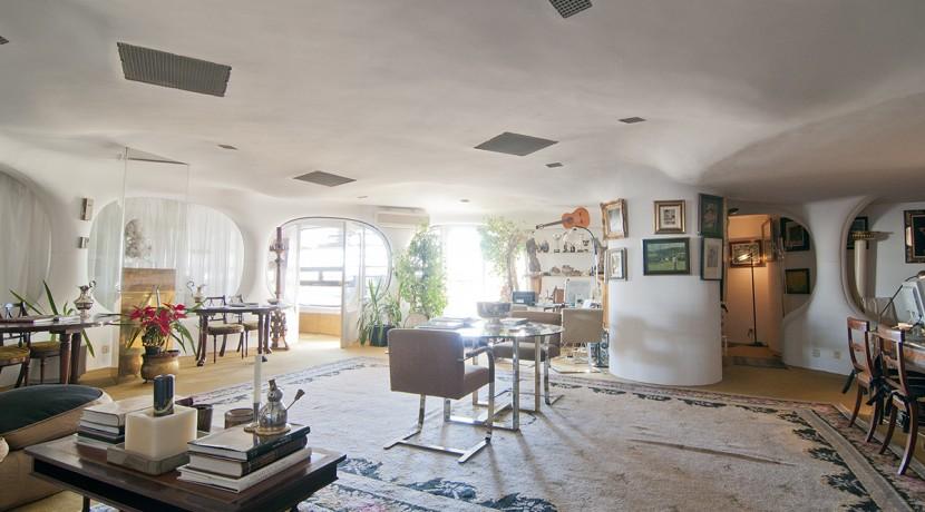 interior piso torres blancas