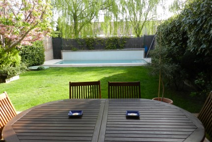 La Finca: Terraced house in urbanization with 24h security and excellent common areas