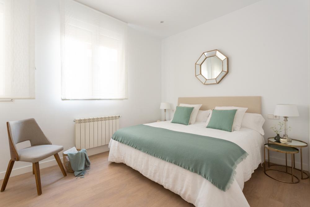 Barrio de Salamanca, a estrenar, 2 dormitorios con 2 baños, 2º planta interior