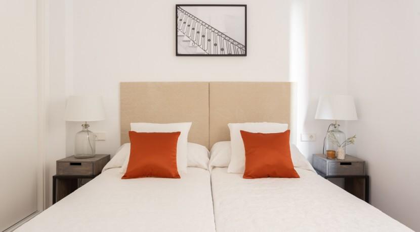 Barrio de Salamanca, a estrenar, 2 dormitorios, 2 baños, 2º planta interior 8