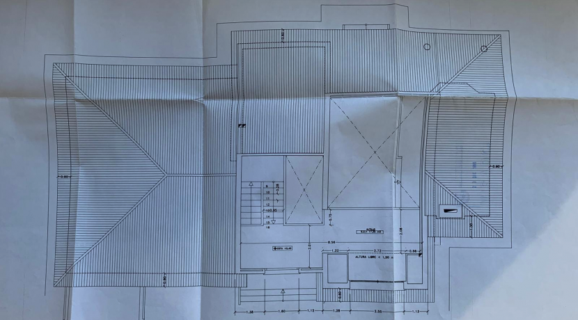 Plano Valle de Belagua 51 Primera planta