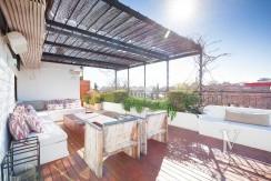 Ático con terraza en la zona de Pío XII, edificio con jardín y piscina21