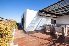 Ático con terraza en la zona de Pío XII, edificio con jardín y piscina27