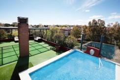 Ático con piscina privada en El Soto de La Moraleja 20