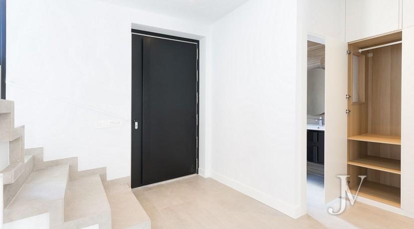 Puerta de Hierro- Obra Nueva, pareado, salón con techos de doble altura 28