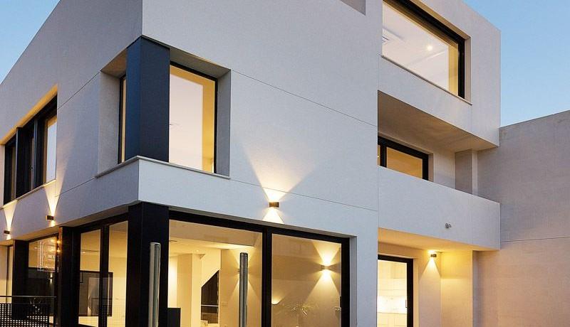Puerta de Hierro- Obra Nueva, pareado, salón con techos de doble altura 3