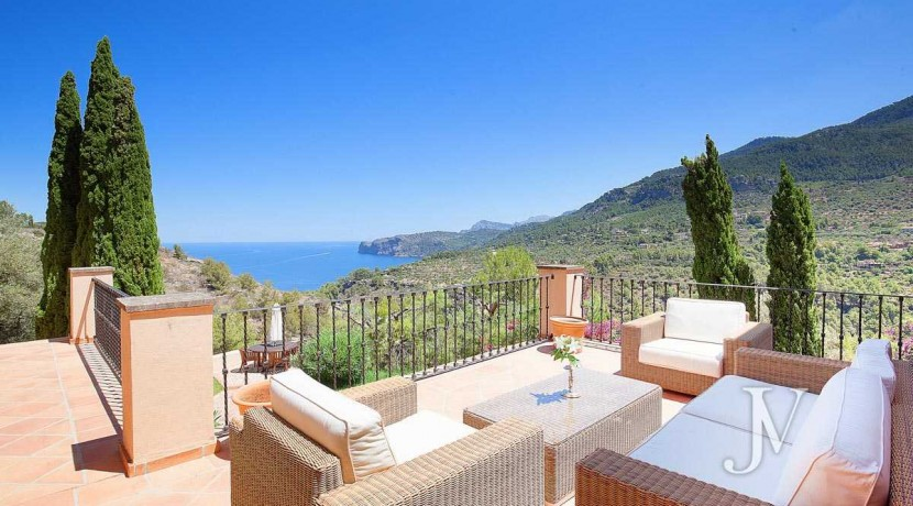 Mallorca - Deiá (Islas Baleares)- Vistas al Mar. Villa de 7 dormitorios con 30.000m2 de parcela 2