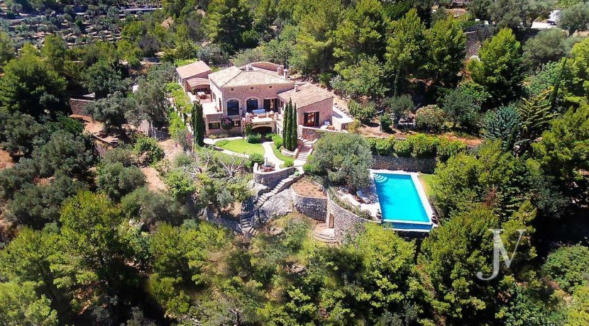 Mallorca - Deiá (Islas Baleares)- Vistas al Mar. Villa de 7 dormitorios con 30.000m2 de parcela 36