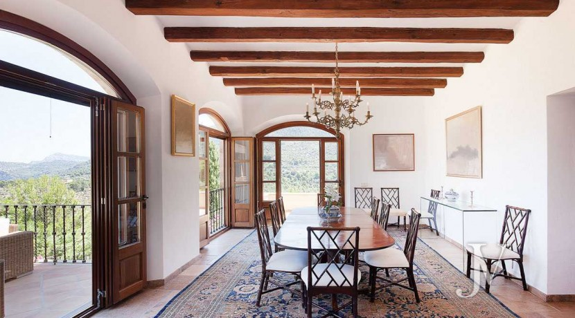 Mallorca - Deiá (Islas Baleares)- Vistas al Mar. Villa de 7 dormitorios con 30.000m2 de parcela 37