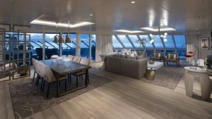 suite en barco