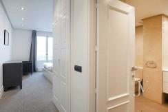 Alquiler en el mejor tramo de la calle Serrano. Bº Salamanca, 2 dormitorios con 2 baños. 12