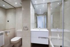 Alquiler en el mejor tramo de la calle Serrano. Bº Salamanca, 2 dormitorios con 2 baños. 13