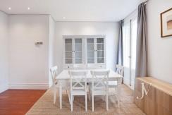 Alquiler en el mejor tramo de la calle Serrano. Bº Salamanca, 2 dormitorios con 2 baños. 9