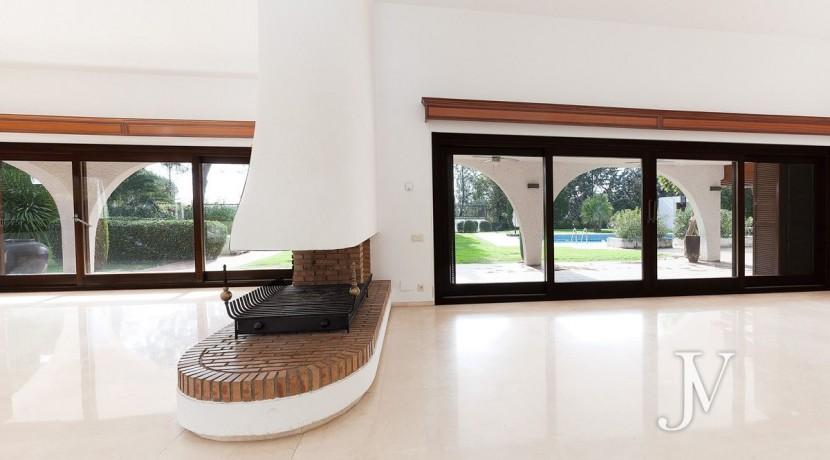 La Moraleja, 2.615m2 de parcela con vistas (una de las mejores de la urbanización), con vivienda, squash y paddle11