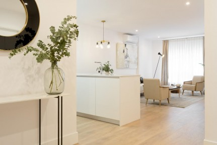 Barrio de Salamanca, brand new, 3 bedroom apartment with 3 bathrooms