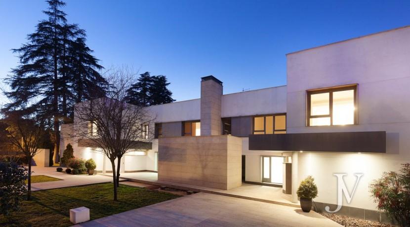 Casa Quemada, chalet moderno lindando con El Pardo, en parcela de 3.000m2 11