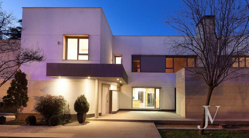Casa Quemada, chalet moderno lindando con El Pardo, en parcela de 3.000m2 14