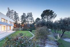 Casa Quemada, chalet moderno lindando con El Pardo, en parcela de 3.000m2 15