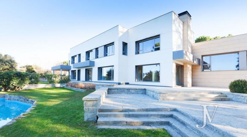 Casa Quemada, chalet moderno lindando con El Pardo, en parcela de 3.000m2 42