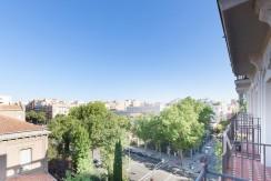 Almagro - Chamberí - Jose Abascal- 5 balcones a la calle, buenas vistas, 372m2 para reformar. 5