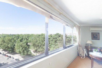 "Salamanca Neighborhood, VIEW TO RETIRO, ""Front Line"", 180sqm, garage and storage room"