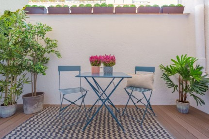 Barrio de Salamanca, calle Claudio Coello, en el mejor tramo, 2 dormitorios con terraza