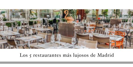 restaurantes de lujo