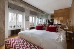 ALMAGRO con vistas, 2 dormitorios + dormitorio de servicio, calidades premium, edificio clásico 7
