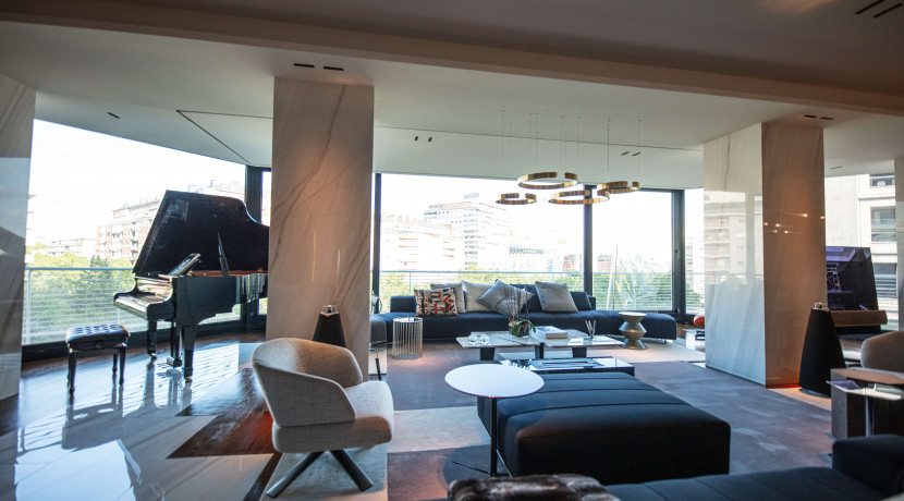 Piso en Castellana - Bernabéu, magníficas vistas, las mejores calidades disponibles en el mercado. Full equip. 11